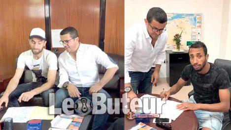 MCA : Derrardja et Azzi rempilent pour deux années