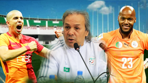 Madjer : «Feghouli et M'bolhi auraient dû se déplacer à Alger»