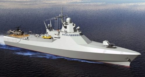 L'Algérie va acheter des navires de patrouille russes