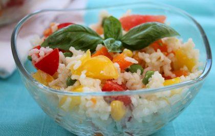 Recette: Salade composée au riz