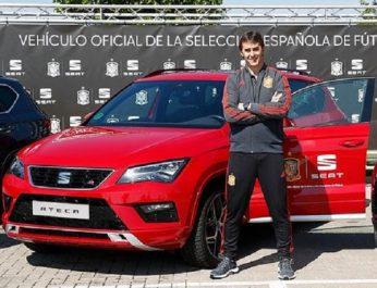 Volkswagen Group : SEAT, nouveau sponsor de la sélection espagnole de football
