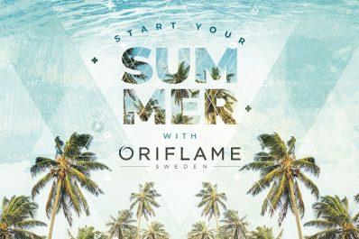 ORIFLAME annonce le retour des cosmétiques en Algérie avec une nouvelle palette de produits et présente pour la saison estivale sa gamme « Sun ».
