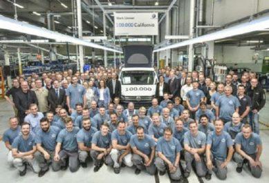 Volkswagen : 100 000 camping-cars California issus de «Hanover