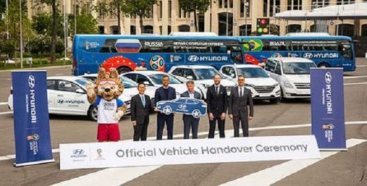 Hyundai : Hyundai fournit 530 véhicules dans le cadre de la Coupe du Monde de la FIFA,