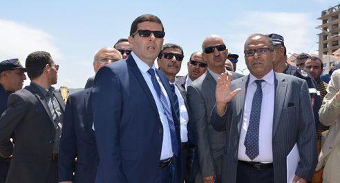 Jeux méditerranéens (oran 2021): Le wali inspecte le projet du stade olympique