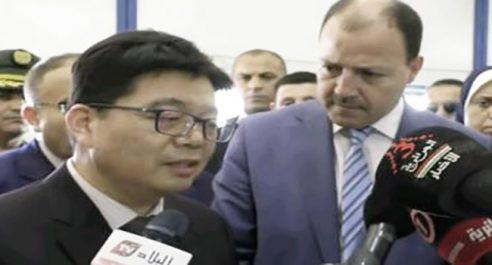 Un Chinois met dans l'embarras un ministre !
