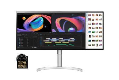 LG lance le moniteur primé Ultrawide ™ de 34 pouces avec une résolution ultra-élevée de 5120 x 2160