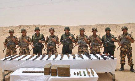 Un terroriste abattu à Médéa et une cache d'armes et de  munitions découverte à Bordj Badji Mokhtar