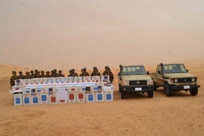 Saisie de 40.000 paquets de cigarettes à El Oued et 88 kg de kif traité à Tlemcen (MDN)
