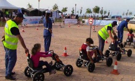 Sécurité routière : Campagne de sensibilisation au niveau de la promenade des Sablettes