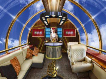 Emirates veut des avions de ligne sans hublot