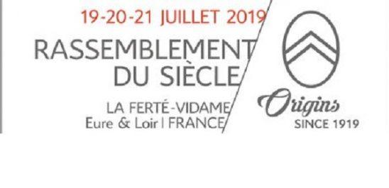 Anniversaire : Le «rassemblement du siècle» pour les 100 ans de Citroën