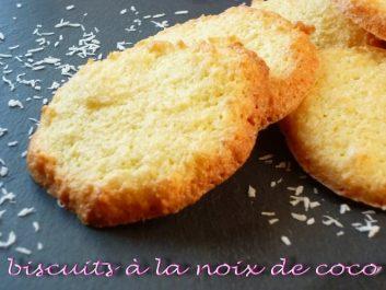 Recette: Biscuits à la noix de coco