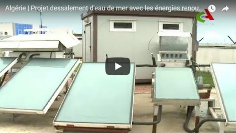 Vidéo: Un Projet du dessalement d'eau grâce aux énergies renouvelables !