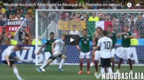 Coupe du monde 2018 : le Mexique fait tomber la Mannschaft (vidéo)