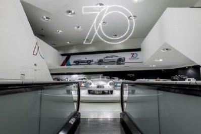 Porsche : Ouverture de l'exposition « 70 ans de voitures de sport Porsche »