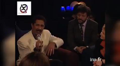 Vidéo : Cheb Khaled et Matoub partagent le même plateau TF1 en 1995