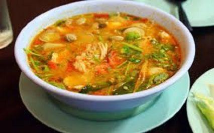 Recette: Soupe aux fruits de mer