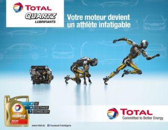 """""""RobotQuartz IV"""" pour les lubrifiants TOTAL QUARTZ"""