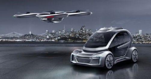 Technologie : Audi soutient un projet de taxi aérien