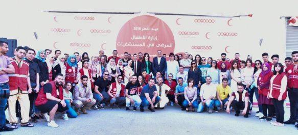 Ooredoo et le CRA partagent les joies de l'Aïd el Fitr avec les enfants hospitalisés