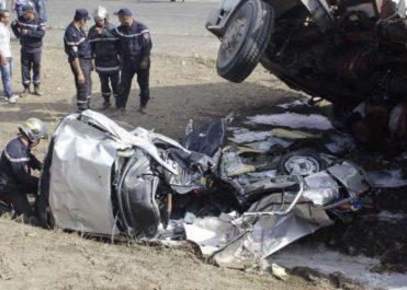 Accidents de la route: 8 décès et 46 blessés durant les dernières 24 heures