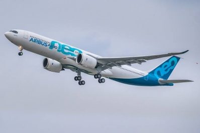 L'Airbus A330neo en route vers les essais d'endurance et d'évaluation en ligne