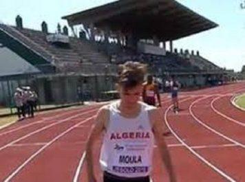 L'Algérien Slimane Moula en bronze