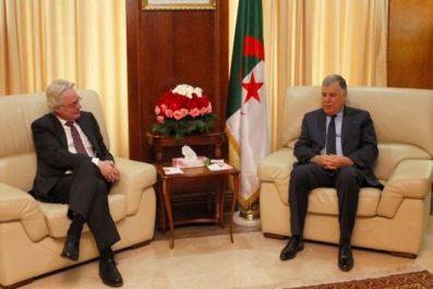 Guitouni évoque les opportunités de partenariat avec l'ambassadeur d'Allemagne