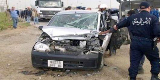 Guelma: Au moins 2 morts et 3 blessés graves dans un carambolage à Hammam Debagh