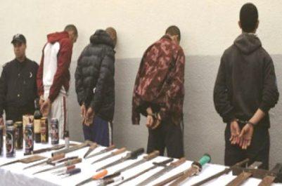 Pour vol sous la menace d'armes blanches: Trois malfaiteurs sous les verrous