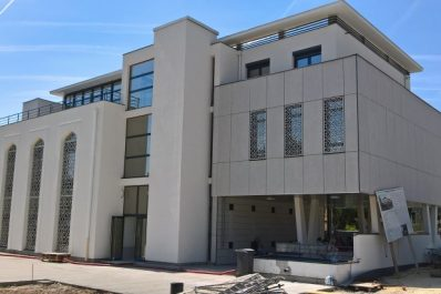 Inauguration de la mosquée «Emir Abdelkader» en Haute Savoie (France)