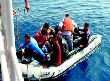 Annaba: 22 harraga surpris par la gendarmerie