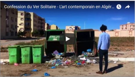 Reda Seddiki à propos de la pollution en Algérie «l'art contemporain en Algérie»