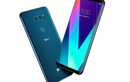 Le V35 thinq de LG : un téléphone plus rapide et plus intelligent des séries V