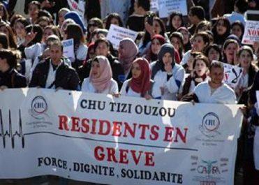 Tizi Ouzou: Les médecins résidents ont marché dans le calme