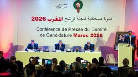 Maroc… USA-Canada-Mexique: qui organisera le Mondial 2026?