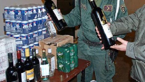 Tiaret: Saisie de 10.000 bouteilles d'alcool