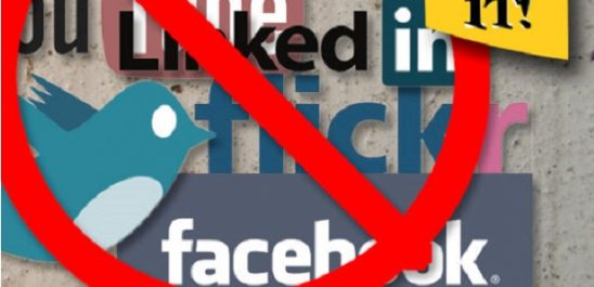 Le blocage des réseaux sociaux se fera avec un nouveau mécanisme cette année!