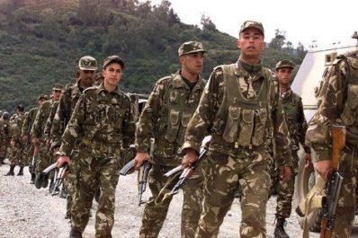80.000 soldats déployés aux frontières sud et est de l'Algérie