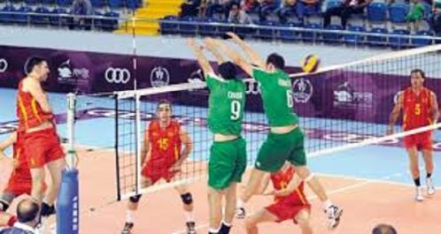 Volley-Ball: Les sélections nationales en stage