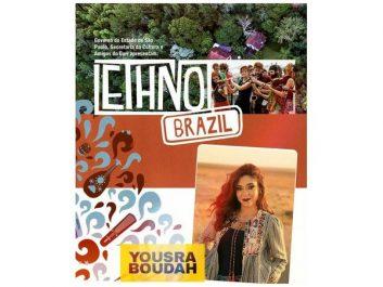 Yousra Boudah présente au festival Ethno Brazil