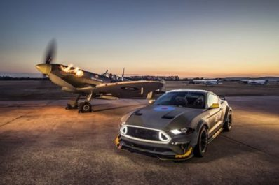 Goodwood «Festival of Speed 2018'» : Une Mustang de 700 ch aux couleurs de la Royal Air Force