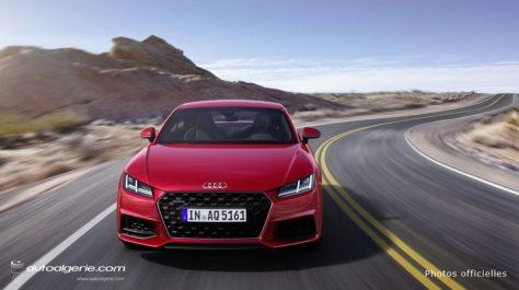 Audi : Le restylage de l'Audi TT dévoilé