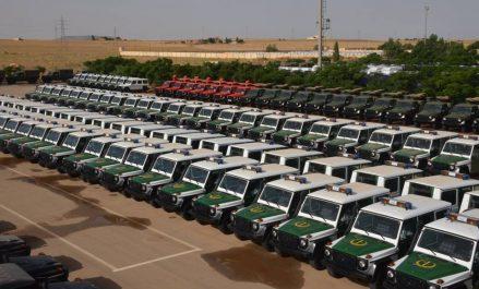 554 véhicules multifonctions et tout-terrain au profit d'institutions et structures nationales
