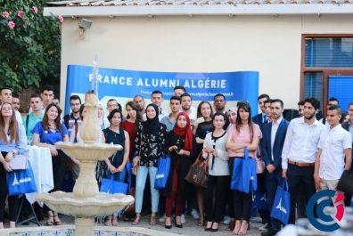 Rencontre avec les meilleurs candidats Campus France Algérie à la Chambre de Commerce et d'Industrie Algéro-Française (CCIAF)