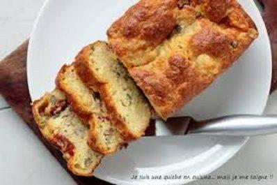 Recette: Cake aux thon et câpres