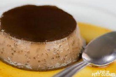 Recette: Crème caramel au chocolat