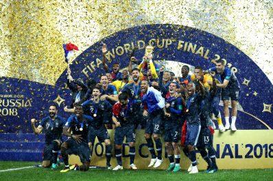 Coupe du monde 2018 : La France championne du monde