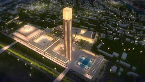Temmar : La Grande-Mosquée d'Alger est en voie de finition
